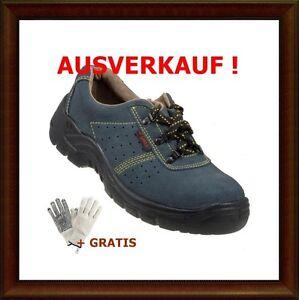 Arbeitsschuhe-Halbschuhe-S1-PS041-Wildleder-Gr-40