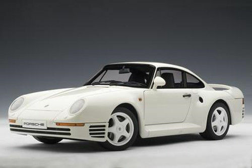 1 18 AUTOART - PORSCHE 959 (Weiß)    Qualitätsprodukte
