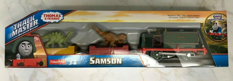 Trackmaster Thomas & Frnds Samson Dinos & Discoveries Fisher Price CDB74  nuevo