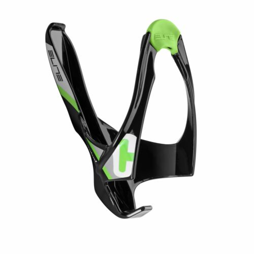 ELITE Cannibal Lateral Insertion Bike Bicycle Water Bottle Cage Holder Green