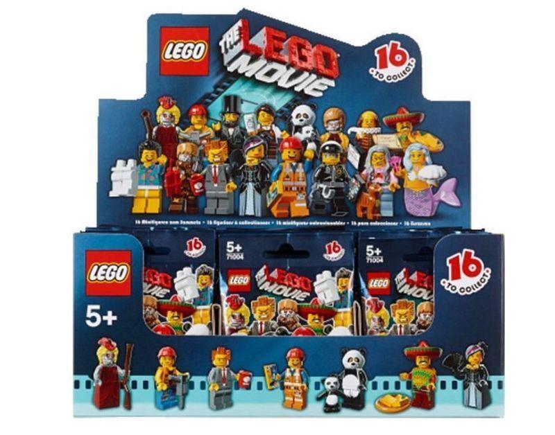 Lego nouvelle série le Film Scellé case of 60 MINI FIGURINES minifigs 71004