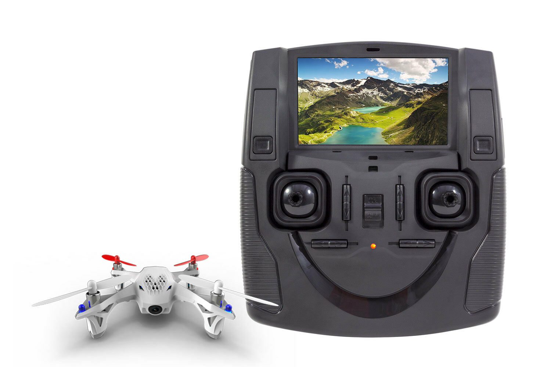 Hubsan x4 FPV h107d quadrocopter-RTF-robot con cámara, batería, batería, batería, cargador y fe  encuentra tu favorito aquí