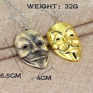 wamami-Hip-Hop-Necklace-Mini-Chain-Gift-Vintage-Gold-Plated-Power-Plug-Pendant