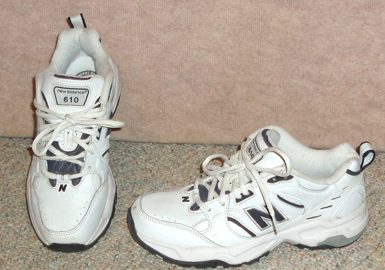 official photos 5ebe6 323df Men s white white white NEW BALANCE MX610WN athletic shoes   sneakers , sz  7 D 76958d