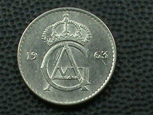 SWEDEN    25 Ore  1963   *