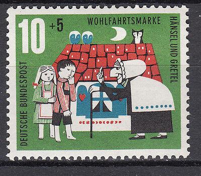 Herzhaft Brd 1961 Mi 370 Postfrisch Luxus!! Nr Ausgezeichnet Im Kisseneffekt