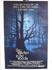 RARE 30x40 Movie Poster Disney's WATCHER IN THE WOODS
