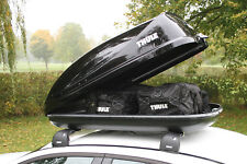 THULE Ocean 80 Car Roof Box Gloss Black Finish - 320 Litre Capacity *NEW STOCK*