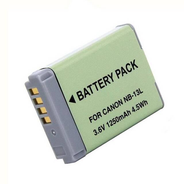 NB-13L/NB13L Kamera Battery Für Canon PowerShot G7X G5X G9X SX620 SX720 Mark II