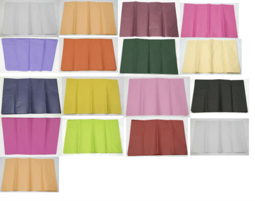 20 colours to choose from Premium Tissue Paper