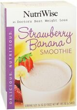 NutriWise - Strawberry Banana High Protein Diet Smoothie