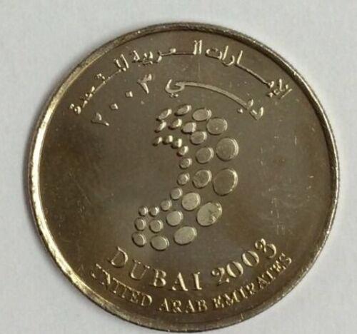 UAE,1 Dirhams DUBAI 2003 UNC 1