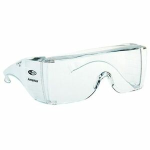 Honeywell-1002224-Aramax-Eyeshield-AX-5-Eu-Clear-Goggles-Pack-of-10