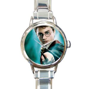 Harry-Potter-Italian-Charm-Montre-Bracelet-Poudlard-Magie-ajouter-Supprimer-des-liens