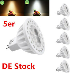 5x gu5 3 mr16 4w led spot lampe licht birnen deckenleuchte. Black Bedroom Furniture Sets. Home Design Ideas