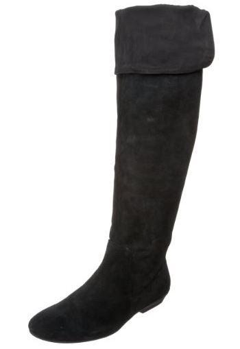 Nine West Women's Sitcom Boot,Black Suede,5.5 M US