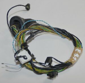 Original-Bmw-Serie-3-E90-E91-1-JUEGO-TUBOS-Parktronic-PDC-Cable-del-Arnes