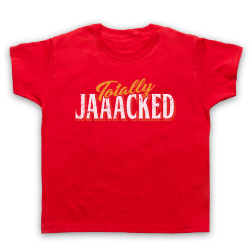 TOTALLY JACKED BODYBUILDING WORKOUT SLOGAN GYM WEIGHTS MENS WOMENS KIDS T-SHIRT