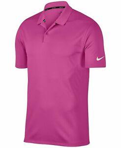 Nike-Men-039-s-Dri-Fit-Golf-Polo-Pink-891881-623-New-M-XL