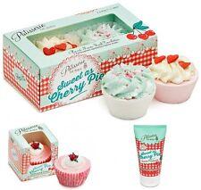 Pastelería de Bain pastel de cereza Conjunto De Regalo Jabón de manos Crema Cupcake Y Baño tartlettes