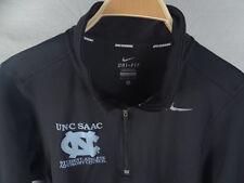 Mens Nike Running Dri Fit UNC SAAC 1/3 Zip Sweatshirt Size S Small