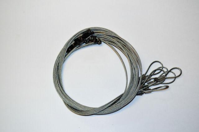 6 Cam Lock Wolf Hog Snares 1/8\