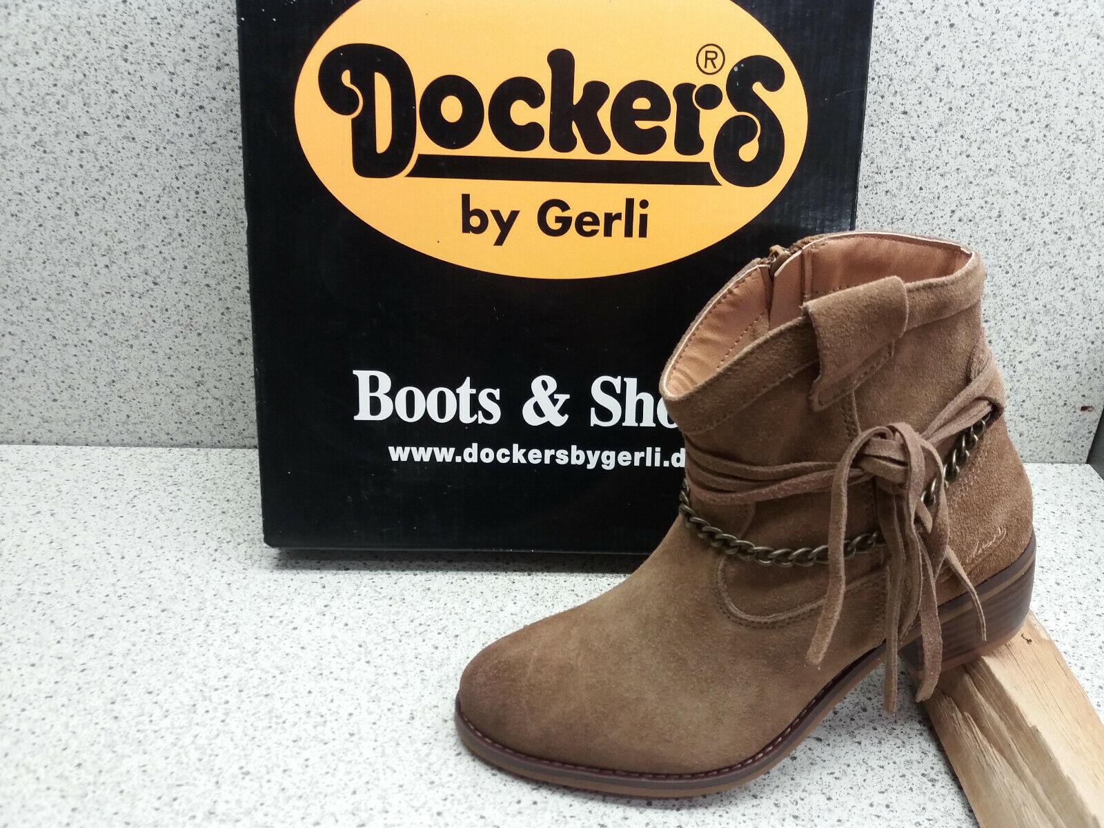 Dockers ® Western botas de cuero botín par individual precio (d513)