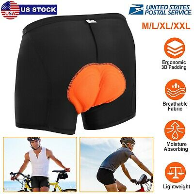 Black Mens Cycling Shorts Bicycle Road Bike 3D Padded Underwear//Shorts//Pants