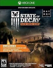 State of Decay Year One Survival Edition Day One Edition -Xbox One Game Complete