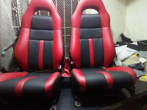 2000 2007 Toyota Mr2 Replacement Leather Seat Covers Ebay