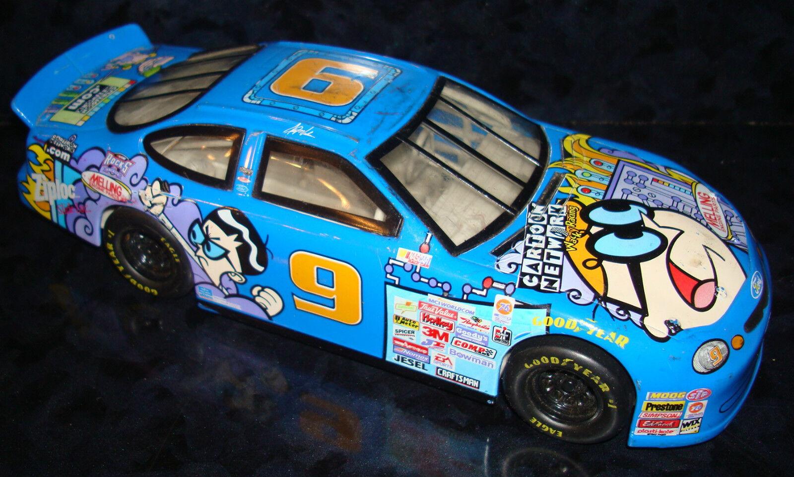JERRY NADEAU  9 Diecast CARTOON NETWORK Hot Wheels 1997 Ford Taurus Car Toy Rare