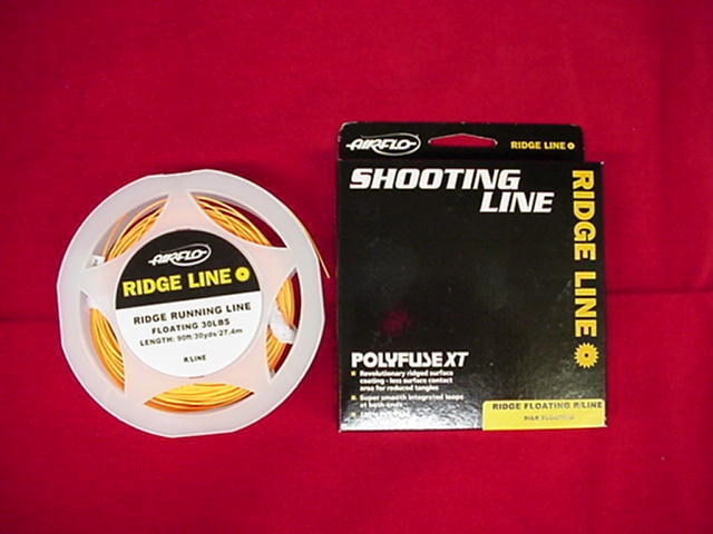Air Flo Fly Line Ridge .040 Shooting Line GREAT NEW