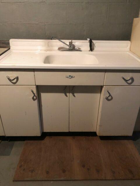 St Charles Vintage Metal Kitchen Cabinets For Sale Online Ebay