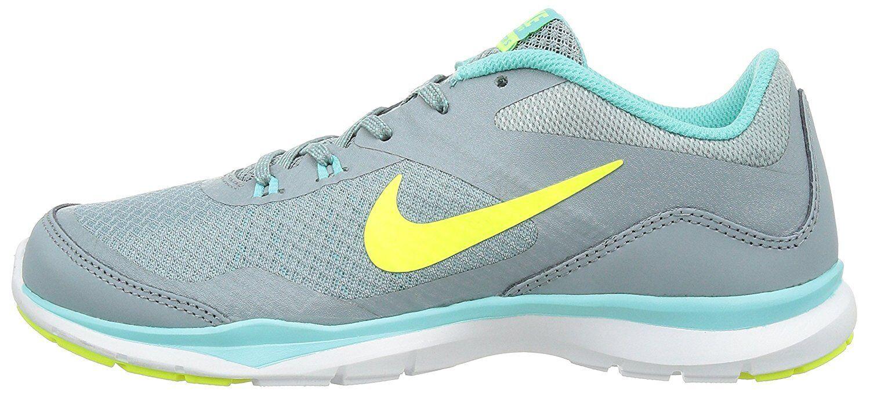 Nuove nike donne flex trainer 5 dimensioni gray in allenamento le scarpe 724858-004