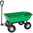 TecTake 400913 Carretilla Remolque 300kg Carga - Verde