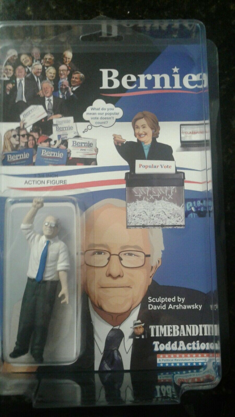 BERNIE SANDERS DKE SDCC KILLER StiefelLEG TIMEBANDITS TODDACTION SPECIAL ED NYCC