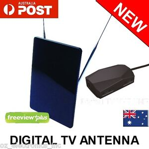 Greentek-Digital-HD-TV-indoor-Active-In-line-Amplified-Antenna-FREEVIEW-PLUS-NEW