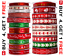 Full-Reel-CHRISTMAS-RIBBON-Natural-Grosgrain-amp-Satin-20-Mtrs-34-Different-Design thumbnail 1