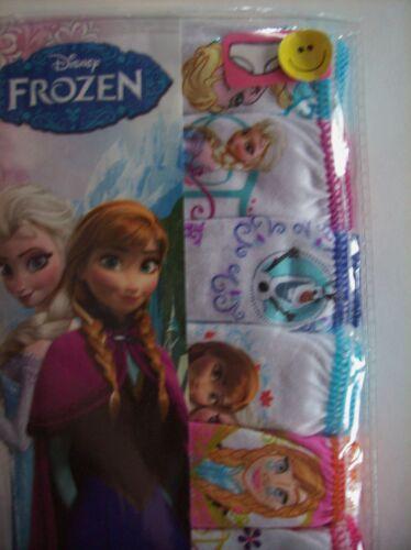 Details about  /Frozen Underwear Underpants Girls 7 Panty Pk Sz 4 6 8 Disney NIP