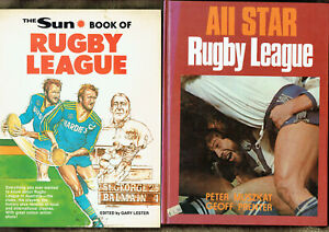 2-JOB-LOT-OF-FOUR-4-RUGBY-LEAGUE-BOOKS