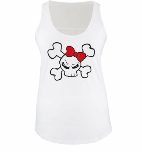 Damen Tank TopNEW FUN MOTIV GIRL SKULL Comedy Shirts