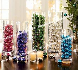 Water Bead Pearl Plastic Pearls Balls Sphere Vase Filler Scatter