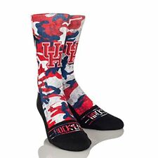 Rockem Apparel NCAA Houston Cougars Custom Athletic Crew Socks