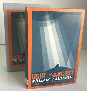 Light in August, by William Faulkner ~BEST Facsimile of 1932 First Edition