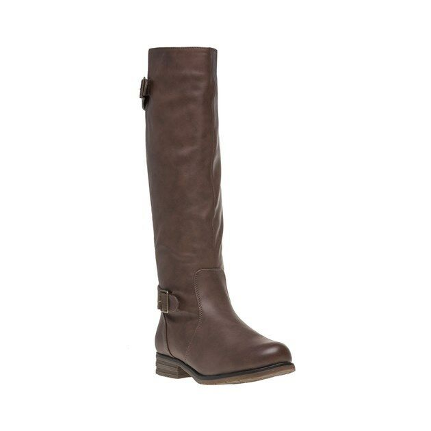New Damenschuhe Stiefel Lotus Braun Beal Synthetic Stiefel Damenschuhe Knee-High Elasticated Zip efe16f