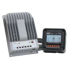 20A MPPT solar charge controller with LCD meter for up to 260W (12v)/ 520W (24V)