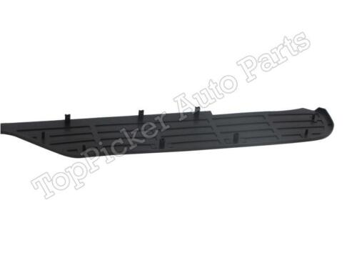 For 1988-2002 CHEVY//GMC PICKUP TRUCK STEPSIDE REAR STEP BUMPER UP TOP PAD BLACK
