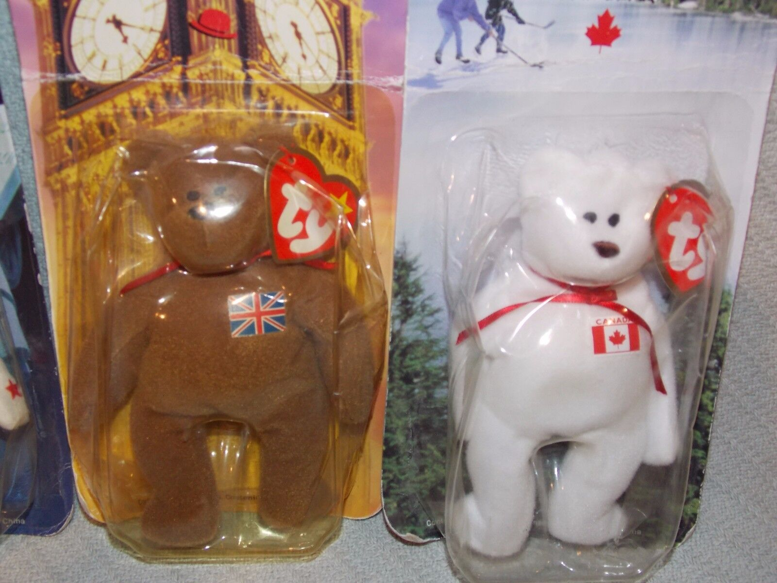 NIP Complete Complete Complete 4  The Bear  Collection TY Beanie Ronald McDonald House Charities 9c4612