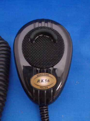 NEW CB,HAM RADIO ROADKING RK56B MICROPHONE 6 PIN WIRED UNIDEN 880,980,680