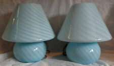 Vintage Italian Murano Glass Lamps c1970